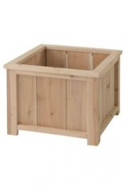 Cedar Planter Square Medium.