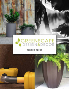 Greenscape Design - Buyers Guide artificial greenery sales and design portfolio commercial residential
