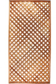 Natural Wood Lattice 8' x 4'