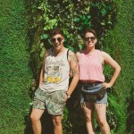 Greenscape Design - ManUp ElHangover outdoor party LGBT community giving greenscapecares