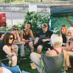 Greenscape Design - queers and beers outdoor party turf artificial decor LGBT community giving greenscapecares