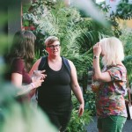 Greenscape Design - queers and beers pride LGBT community outdoor party greenery artificial greenscapecares